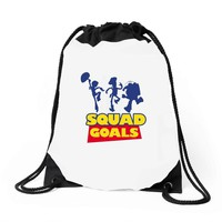 Toy Story Squad Goals Drawstring Bags
