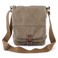 Canvas Crossbody Bag #21223