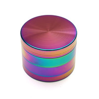 4 Layers Trippy Coloful Metal Grinder