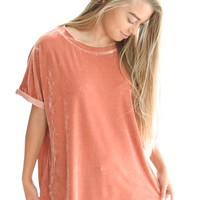 You're My Crush Top In Rose