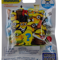 Minions Mega Bloks Series 3 Lot of 11 Blind Mystery Pack Toy Factory Sealed Fun