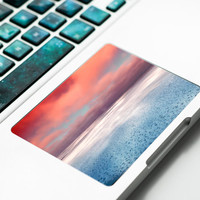 Sea view Under the horizon Touchpad Sticker with clouds starfield for Apple Macbook Pro, Pro Retina, Macbook Air Trackpad Sticker Decal,