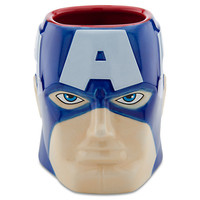 Captain America Sculptured Mug