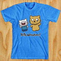 best Seller Hello Adventure shirt for T shirt Mens and t shirt Ladies