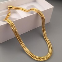 Gift Shiny Jewelry Stylish New Arrival Hot Sale Fashion Hip-hop Club Necklace [6542776131]