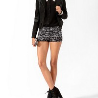 Contrast Lace Hot Pants | FOREVER 21 - 2017307633