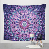ARABESQUE UNIVERSE Wall Tapestry by Monika Strigel