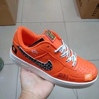 Nike Air Force 1 Just Do It Men's and Women's Sneakers Shoes