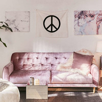 Laurel Velvet Sleeper Sofa | Urban Outfitters