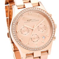 Marc by Marc Jacobs Henry Glitz Chronograph Watch