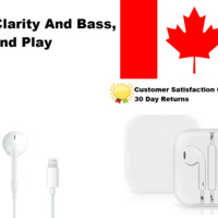 Earphones Earbuds for Apple iPhone 7, 8, X With Mic and volume LIGHTNING