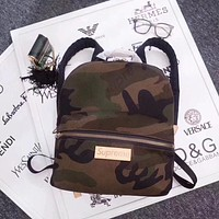LV SUPREME MONOGRAM ECLIPSE CANVAS CAMOUFLAGE BACKPACK BAG