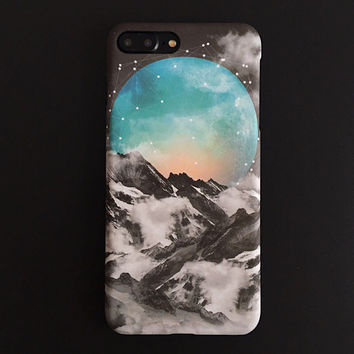 Space Planet iPhone X 7 8 Plus & iPhone se 5s 6 6 Plus Best Protection Case Cover +Gift Box-108