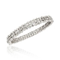 Beladora Diamond Bangle Bracelet - Shop Luxury Jewelry | Editorialist