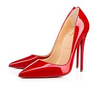 Christian_ Louboutin Womens Kate Pointed Toe and Stiletto Heel Autumn Winter Shape