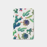 Cactus passport holder leather passport cover personalized passport cover cute passport cover by WanderlustCover