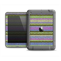 The Colorful Knit Pattern Apple iPad Mini LifeProof Fre Case Skin Set