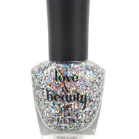 Disco Ball Silver Nail Polish