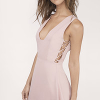 Tywin Lace Up Skater Dress