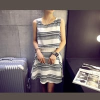 Double Perspective Sleeve with Mini Skirts