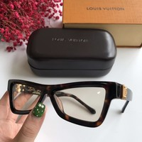 Louis Vuitton LV Men Women Fashion Popular Summer Sun Shades Eyeglasses Glasses Sunglasses