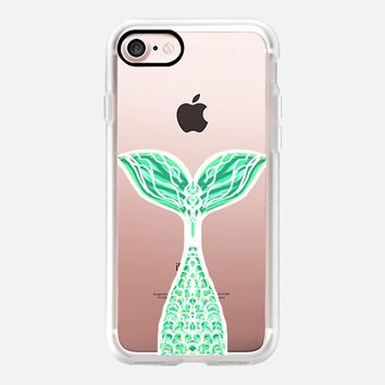 Pretty Mint Mermaid iPhone 7 Case by Lisa Argyropoulos | Casetify