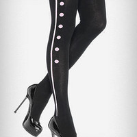 Buttons & Bows Tights | PLASTICLAND
