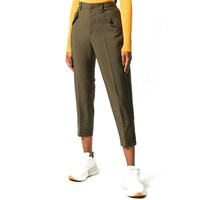 No. 21  Khaki Cropped Pants