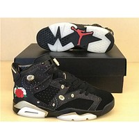 "Air Jordan 6 ""Chinese New Year"" AA2492-021 Size US 36-47"