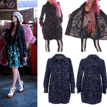 Starry Night Coat by Iron Fist - SALE sz XS & Sm only