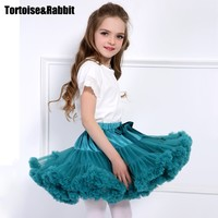 Baby Girls Tutu Skirt Fluffy Children Ballet Kids Pettiskirt Baby Girl Skirts Princess Tulle Party Dance Skirts