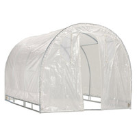 Poly-tunnel Hoop House Style Greenhouse (6' x 8')