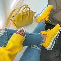 NIKE AIR MAX 97 Yellow Sneaker