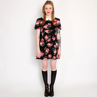 Hearts & Bows Black Rosie Peter Pan Collar Dress