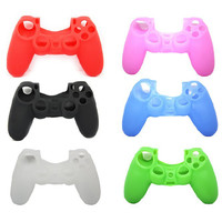 Terrific Silicone Rubber Gel Protective Cover for Playstation4 PS4 Controller