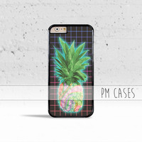 Aesthetics Pineapple Grid Case Cover for Apple iPhone 4 4s 5 5s 5c 6 6s Plus & iPod Touch