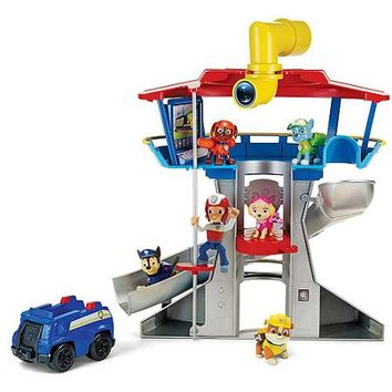 Nickelodeon Paw Patrol - Look-Out Playset, Vehicle and Figure - Walmart.com