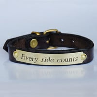 Every Ride CountsEquestrian Bracelet$22.00-Wild Horsefeathers