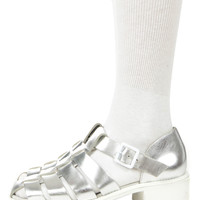 DEE SILVER SANDALS