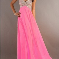 WowDresses — 2013 Long Beaded Strapless Sweetheart Prom/Graduation Dress