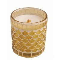 Woodwick Mosaic Candle - Coconut Hibiscus