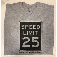 25 mph Fircrest T-Shirt - Gray