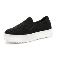 Slip-On Canvas Trainer Shoes