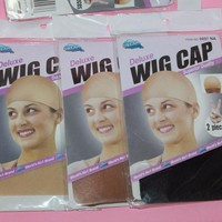 Stocking wig cap hair nets dome wig cap Stretchable Elastic Hair Net Snood Wig Cap wholesale 1pc