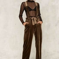Nasty Gal Toulouse Suspender Pants