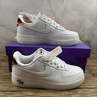 Morechoice Tuhz Nike Air Force 1 Low Be True Sneakers Casual Skaet Shoes Cv0258-100