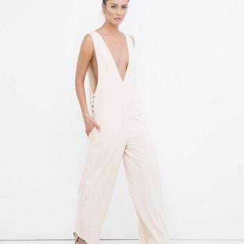 THE LOVE HER JUMPSUIT - SALMON