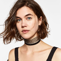 SHINY SUEDE CHOKER PACK DETAILS