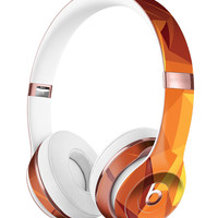 Fiery Abstract Geometric Shapes Full-Body Skin Kit for the Beats by Dre Solo 3 Wireless Headphones
