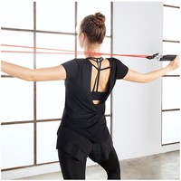 Active wear Yoga Top Fitness Apparel